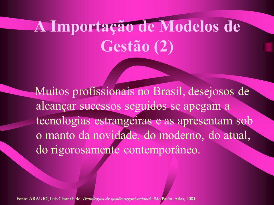 A Importação de Modelos de Gestão (2)