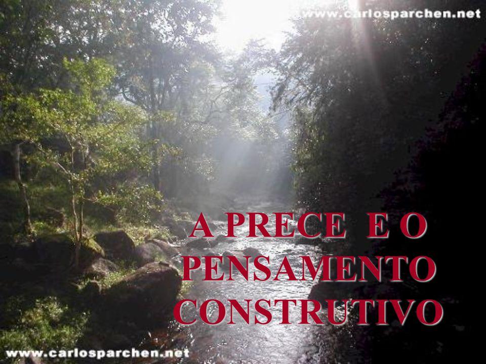 A PRECE E O PENSAMENTO CONSTRUTIVO