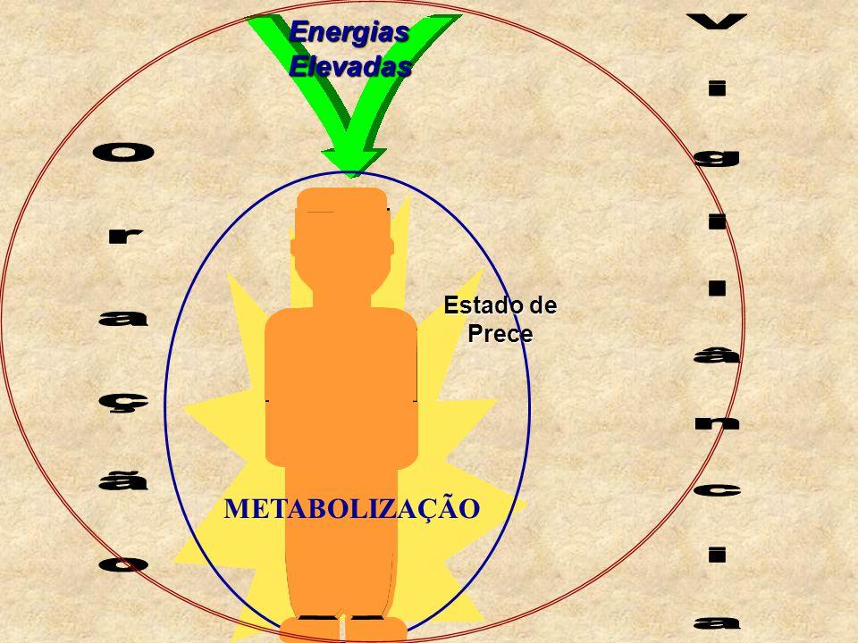 V i g i l â n c i a O r a ç ã o Energias Elevadas METABOLIZAÇÃO