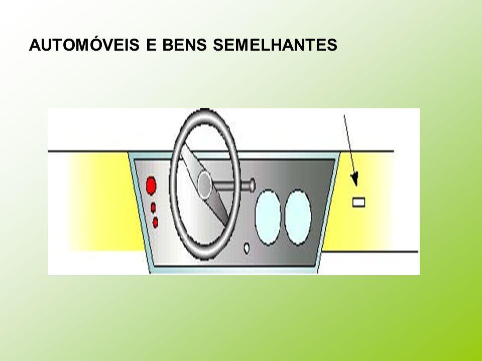 AUTOMÓVEIS E BENS SEMELHANTES