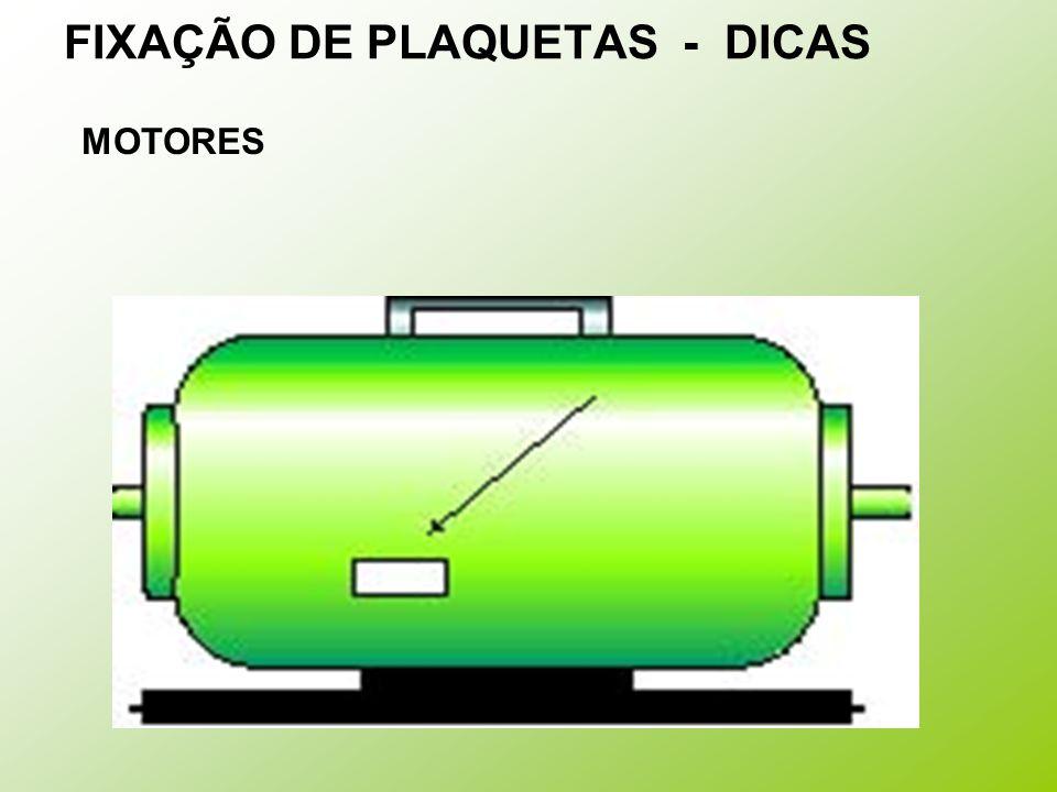 FIXAÇÃO DE PLAQUETAS - DICAS