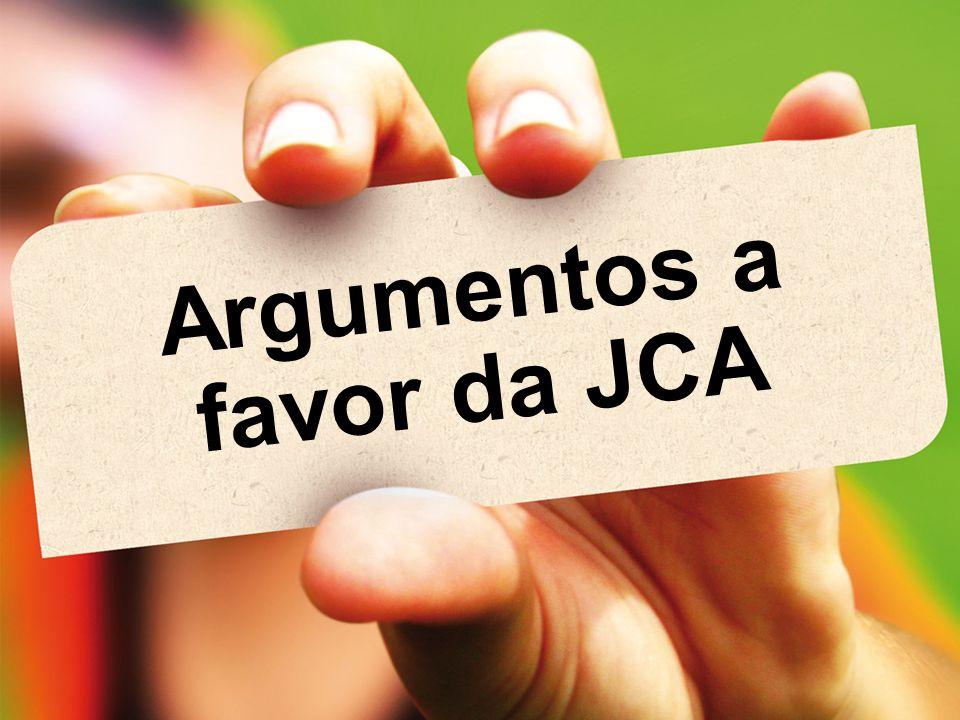Argumentos a favor da JCA