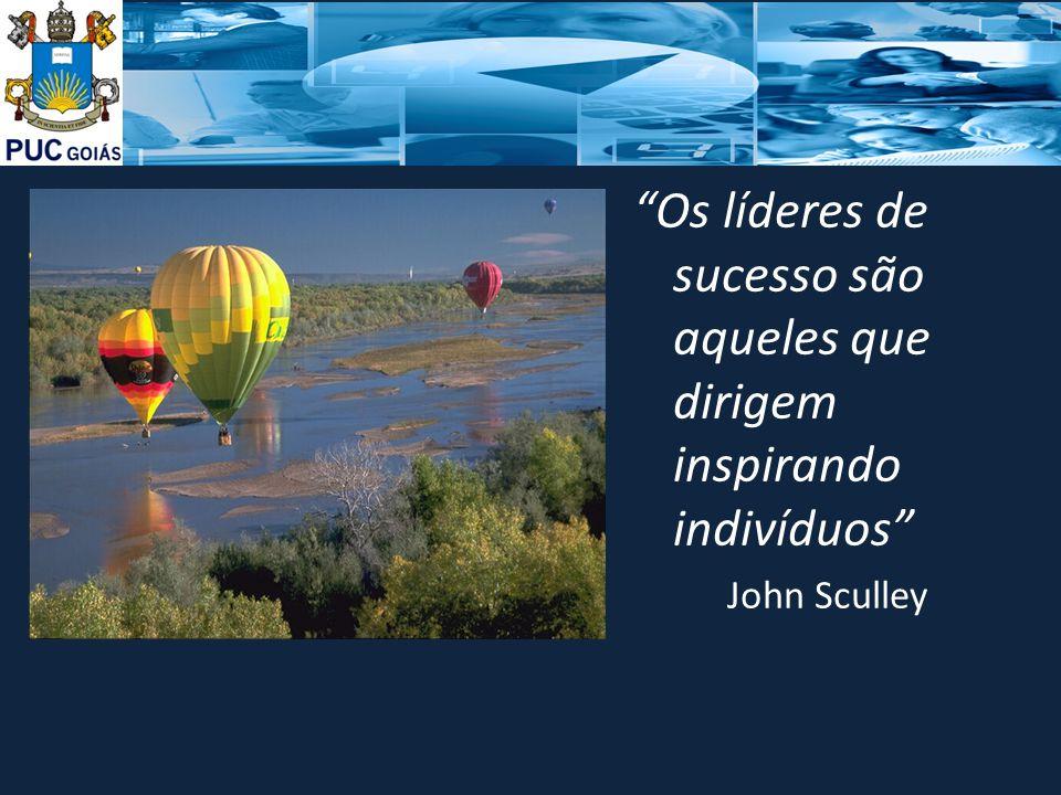 Os líderes de sucesso são aqueles que dirigem inspirando indivíduos