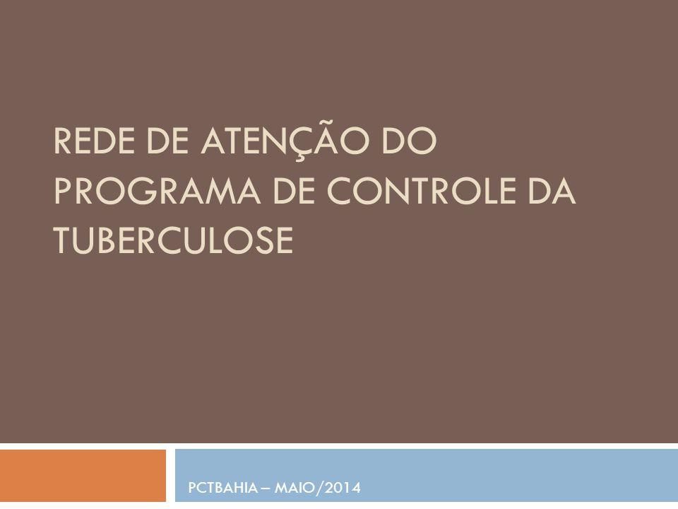REDE DE ATENÇÃO DO PROGRAMA DE CONTROLE DA TUBERCULOSE