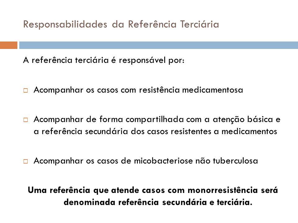 Responsabilidades da Referência Terciária