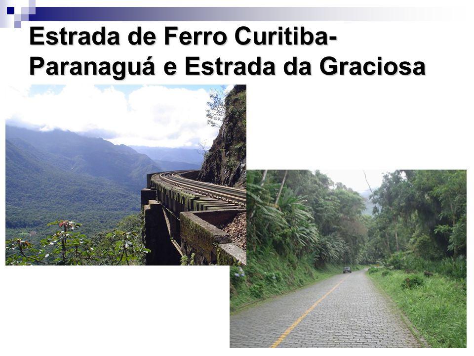 Estrada de Ferro Curitiba-Paranaguá e Estrada da Graciosa