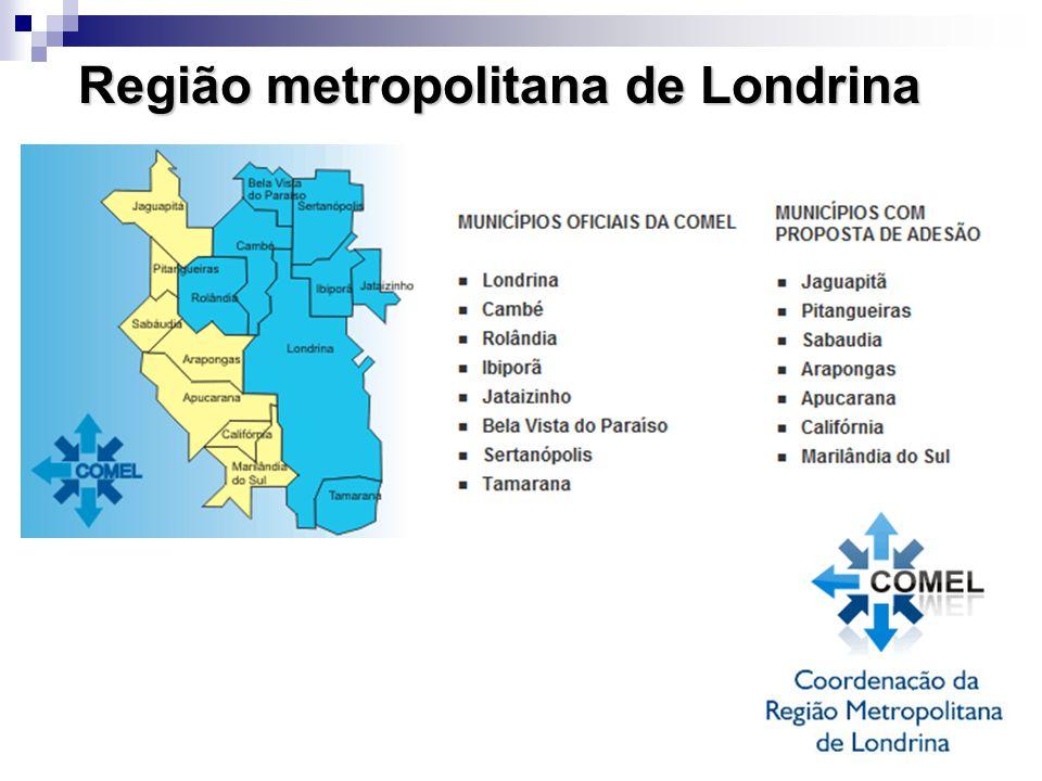 Região metropolitana de Londrina