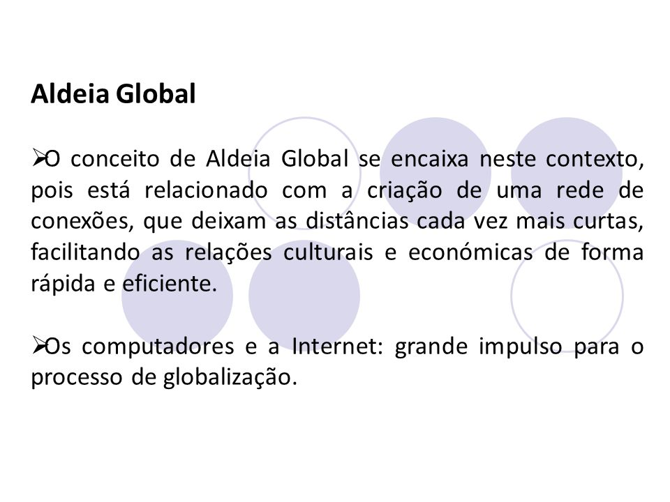 Aldeia Global