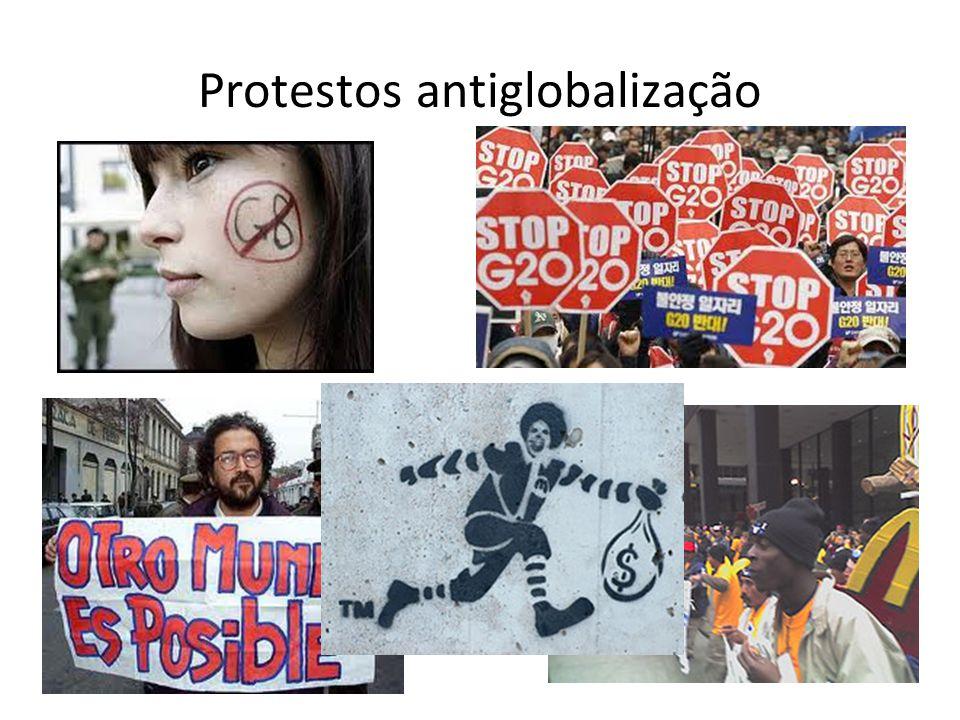 Protestos antiglobalização