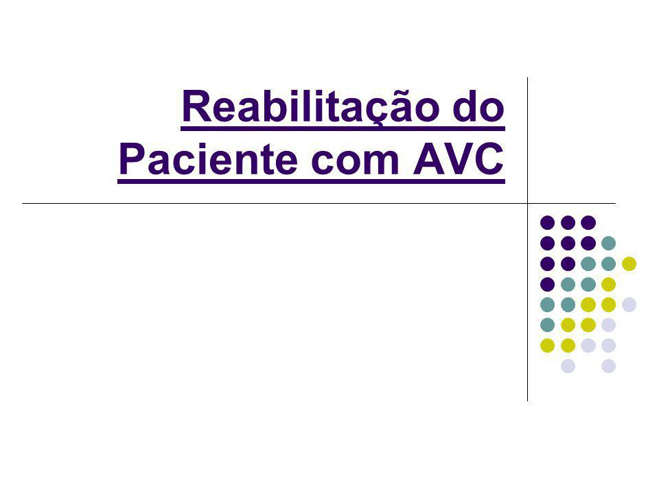Reabilitação do Paciente com AVC