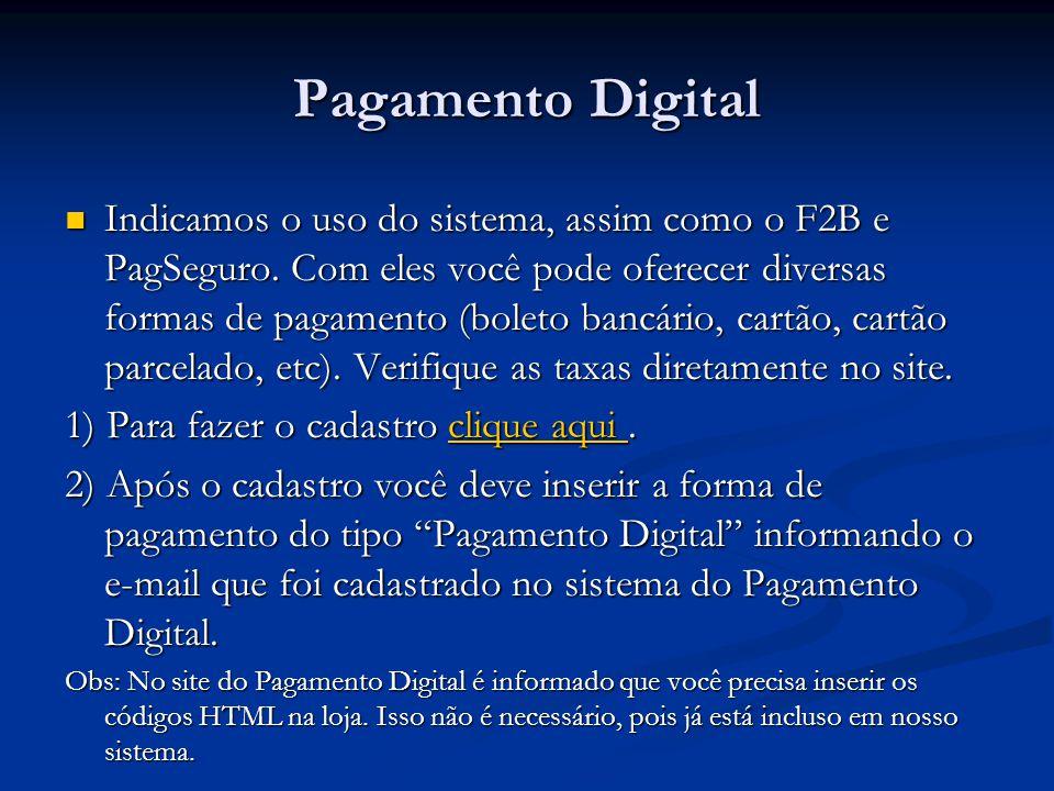 Pagamento Digital