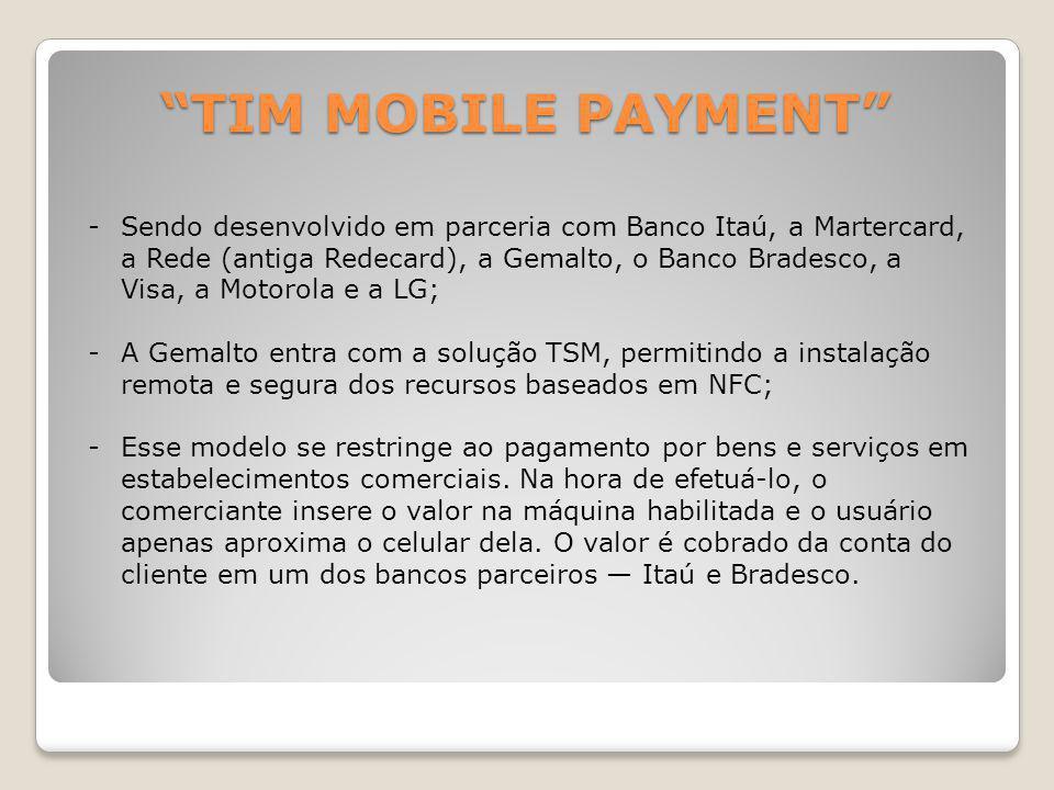 TIM MOBILE PAYMENT