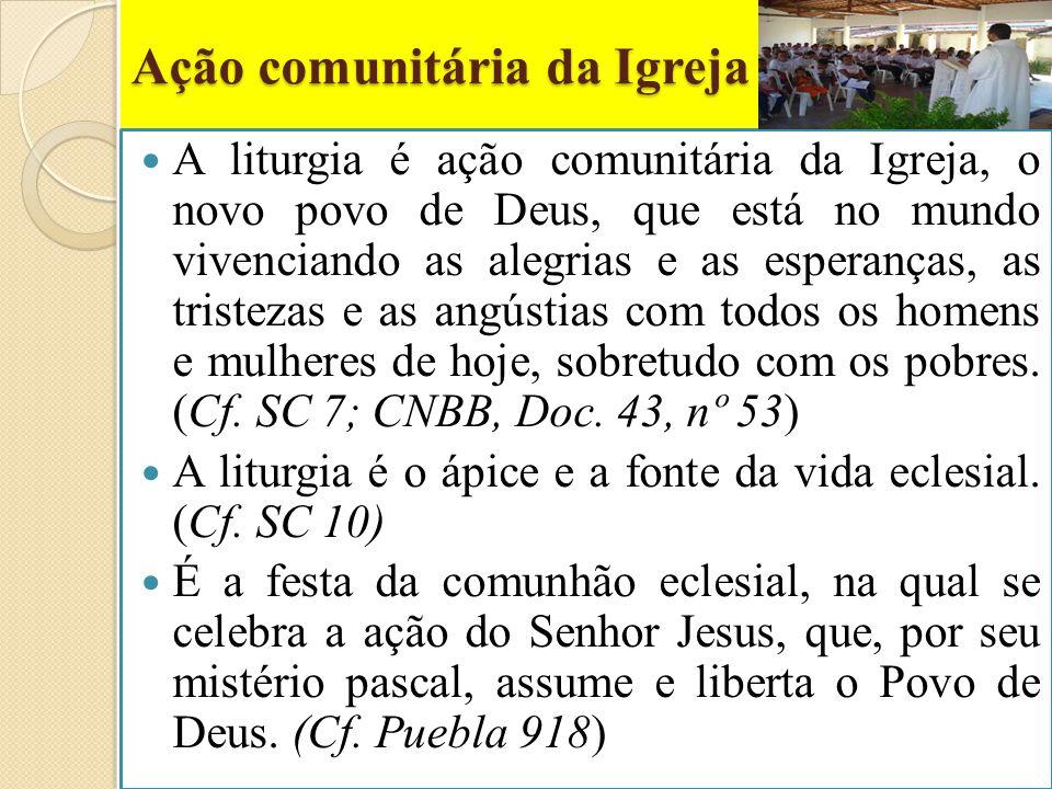 Ação comunitária da Igreja
