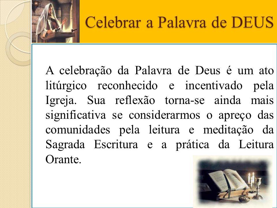 Celebrar a Palavra de DEUS
