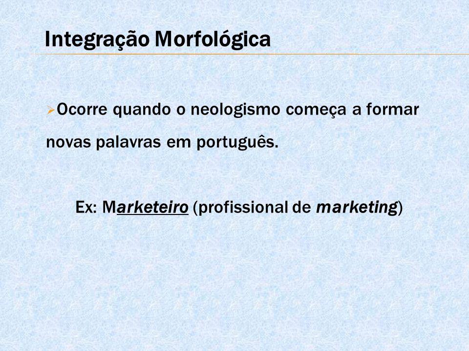 Integração Morfológica
