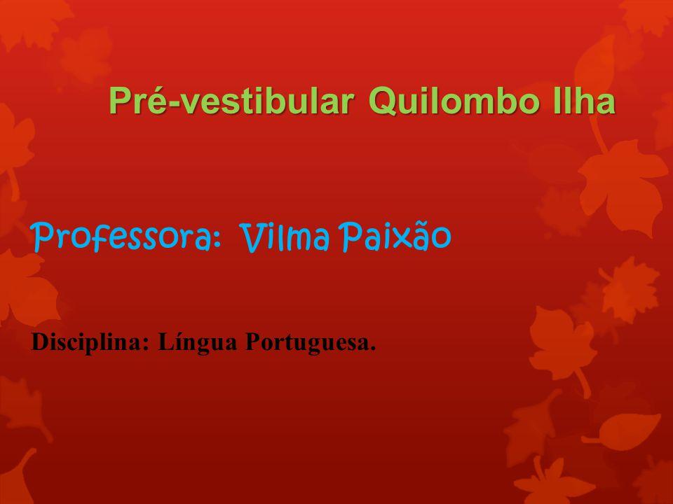 Pré-vestibular Quilombo Ilha