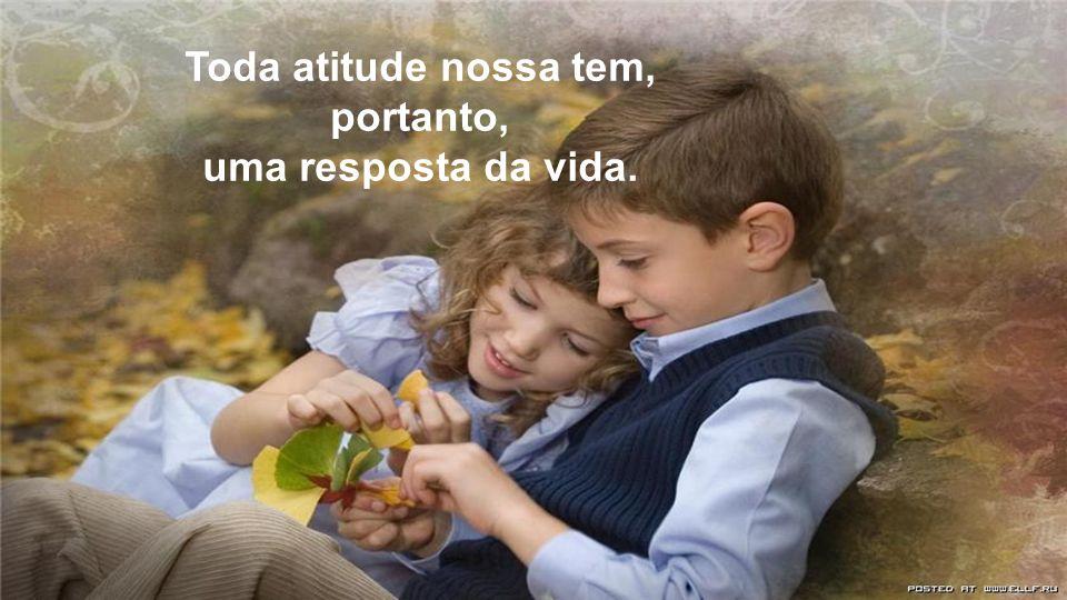 Toda atitude nossa tem, portanto,