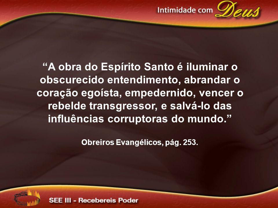 Obreiros Evangélicos, pág. 253.
