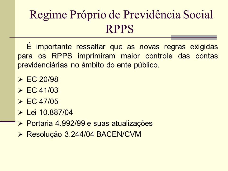 Regime Próprio de Previdência Social RPPS