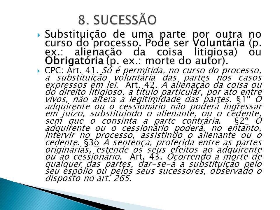 8. SUCESSÃO