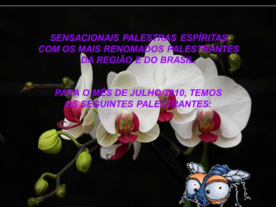 SENSACIONAIS PALESTRAS ESPÍRITAS COM OS MAIS RENOMADOS PALESTRANTES