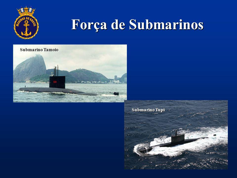 Força de Submarinos Submarino Tamoio Submarino Tupi