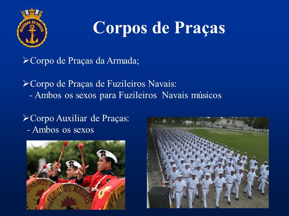 Corpos de Praças Corpo de Praças da Armada;