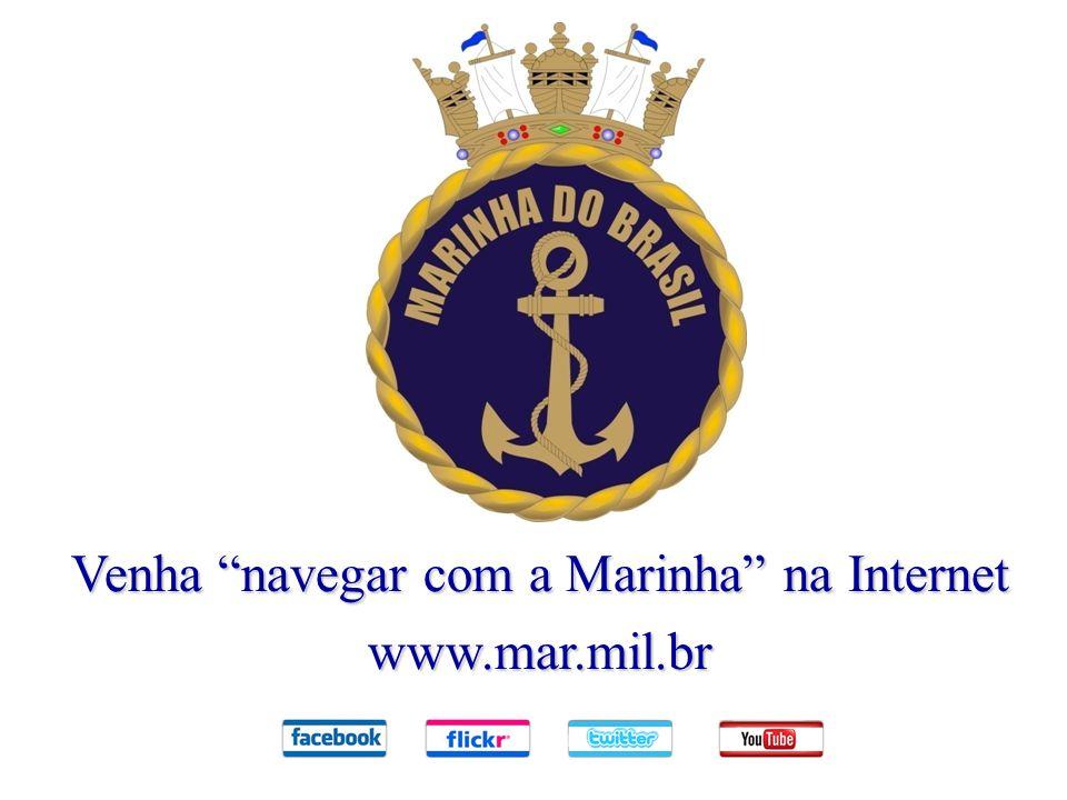 Venha navegar com a Marinha na Internet