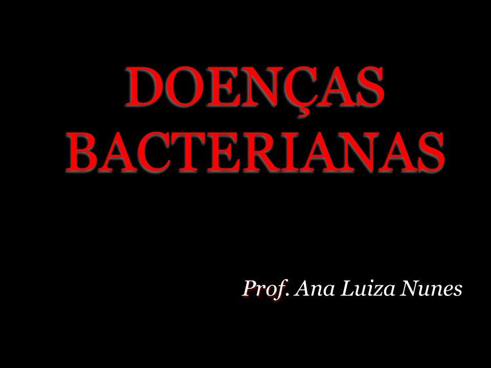 DOENÇAS BACTERIANAS Prof. Ana Luiza Nunes