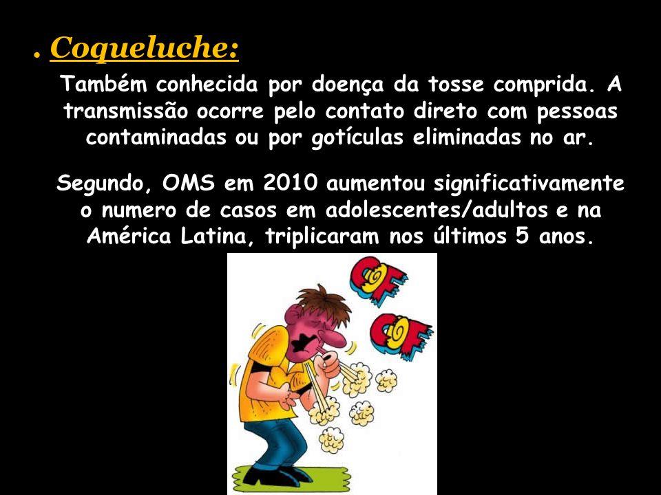 . Coqueluche: