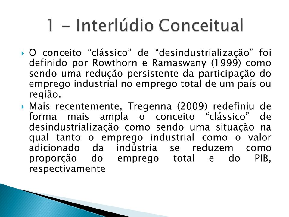 1 - Interlúdio Conceitual
