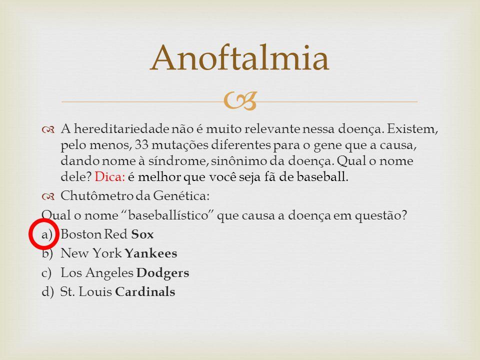 Anoftalmia