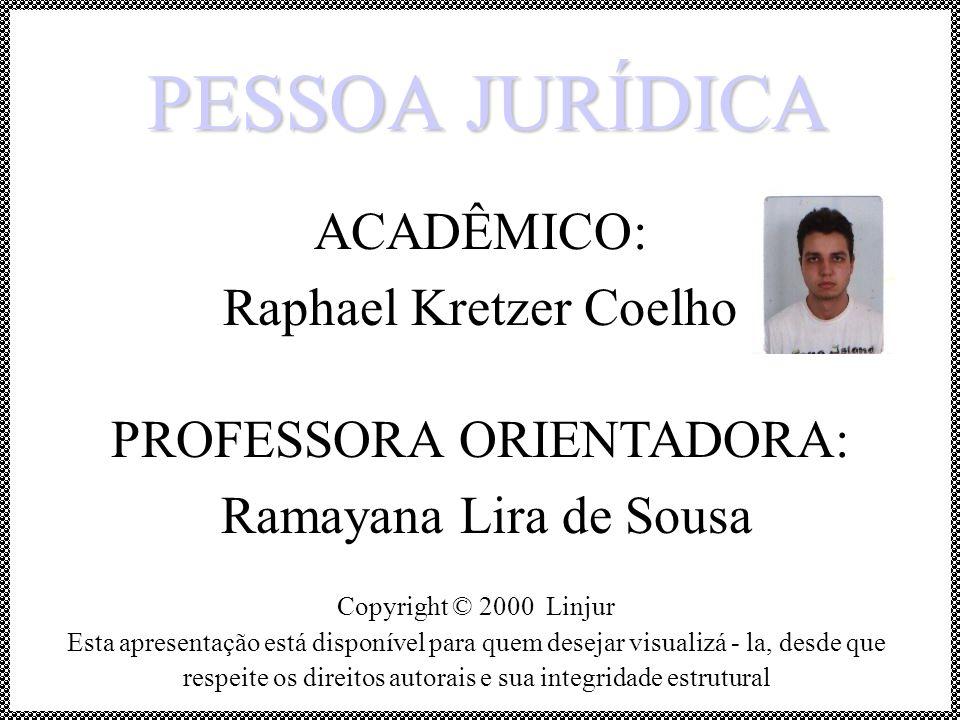 ACADÊMICO: Raphael Kretzer Coelho