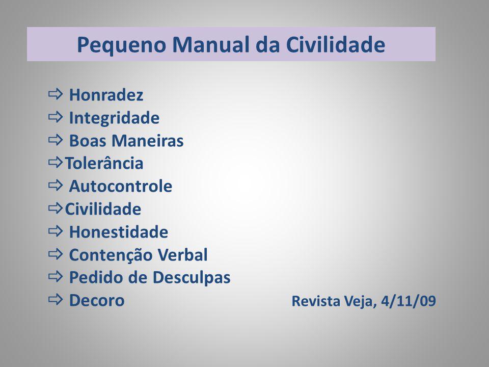 Pequeno Manual da Civilidade