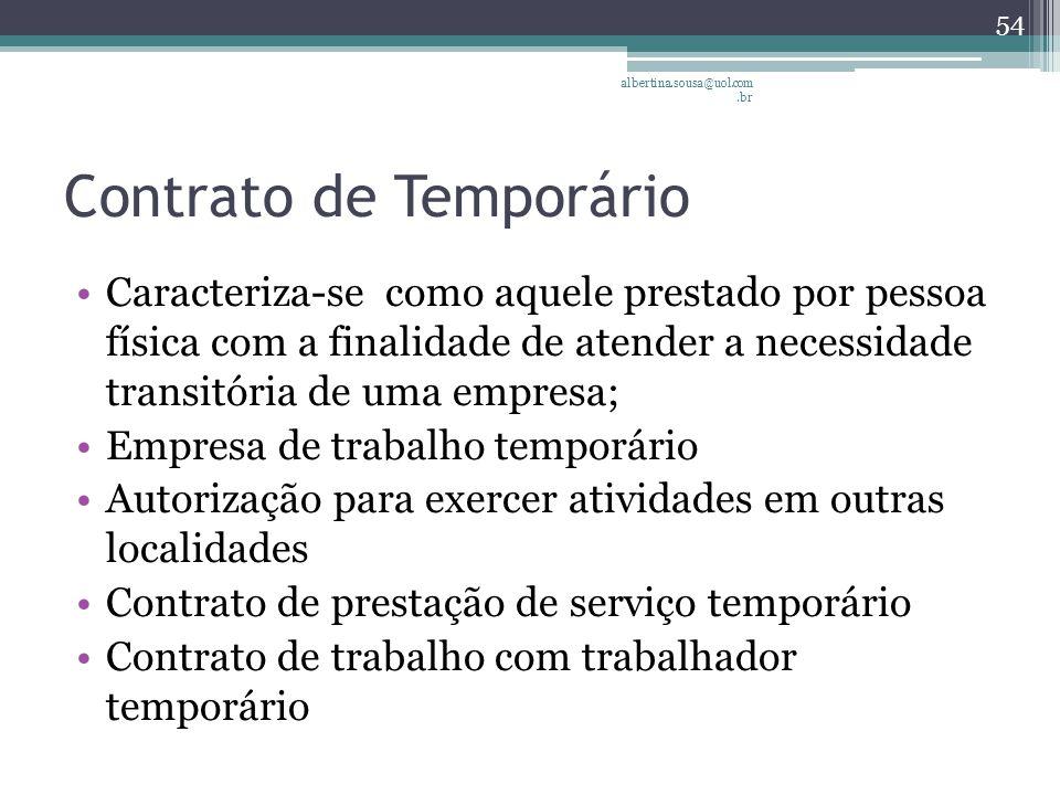 Contrato de Temporário