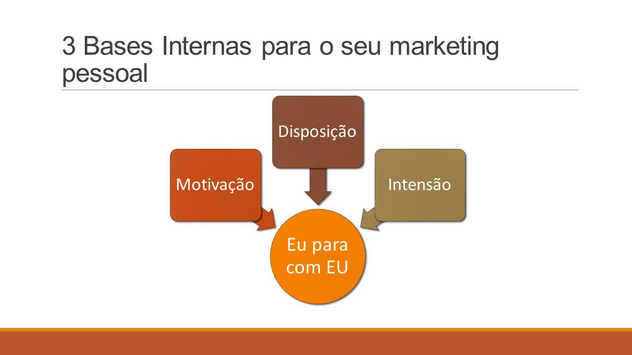 3 Bases Internas para o seu marketing pessoal