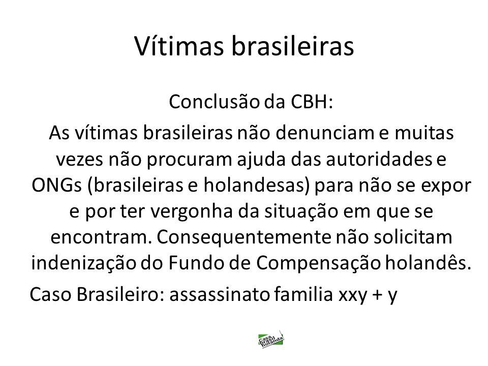 Vítimas brasileiras