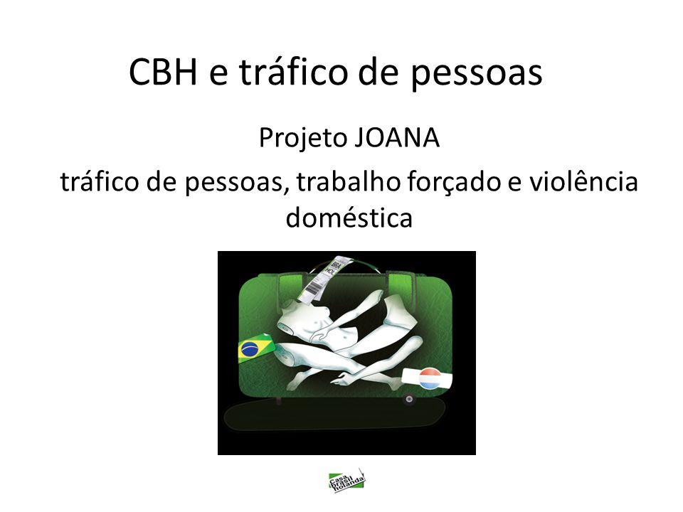 CBH e tráfico de pessoas