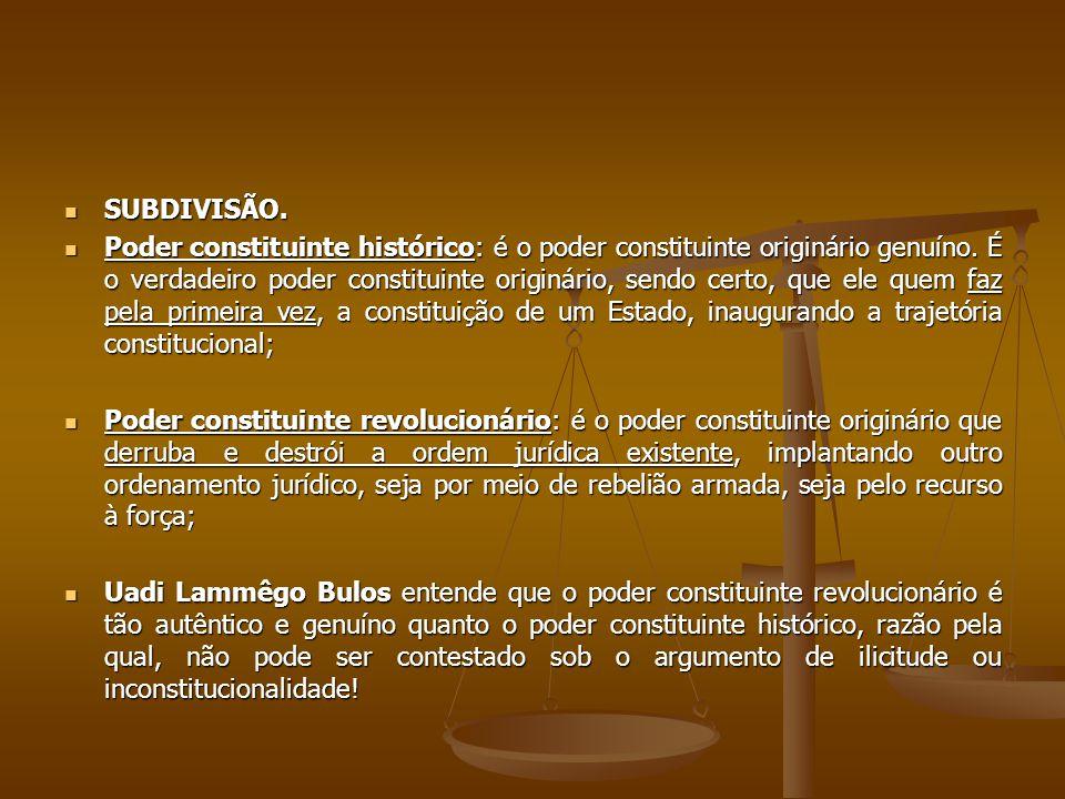 SUBDIVISÃO.
