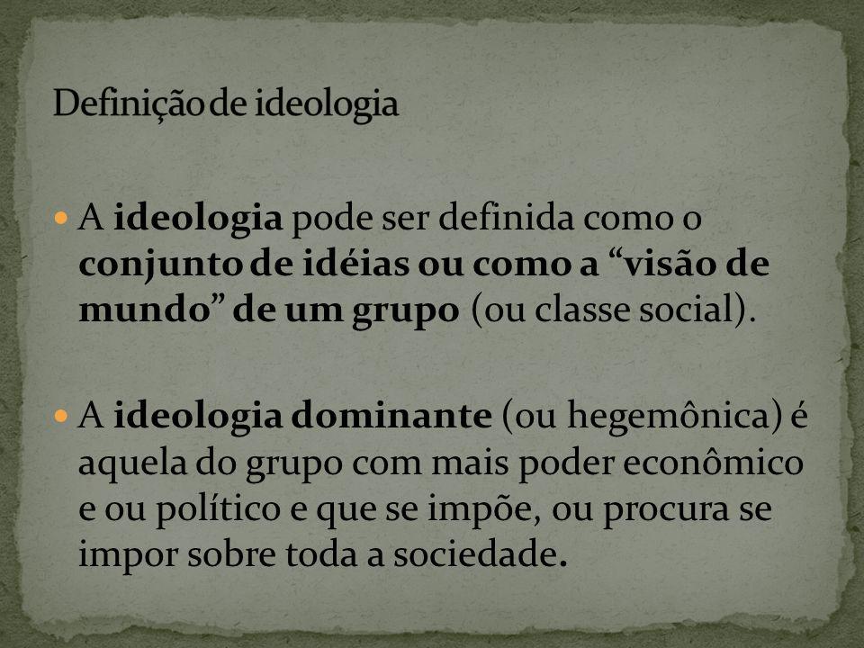 Definição de ideologia