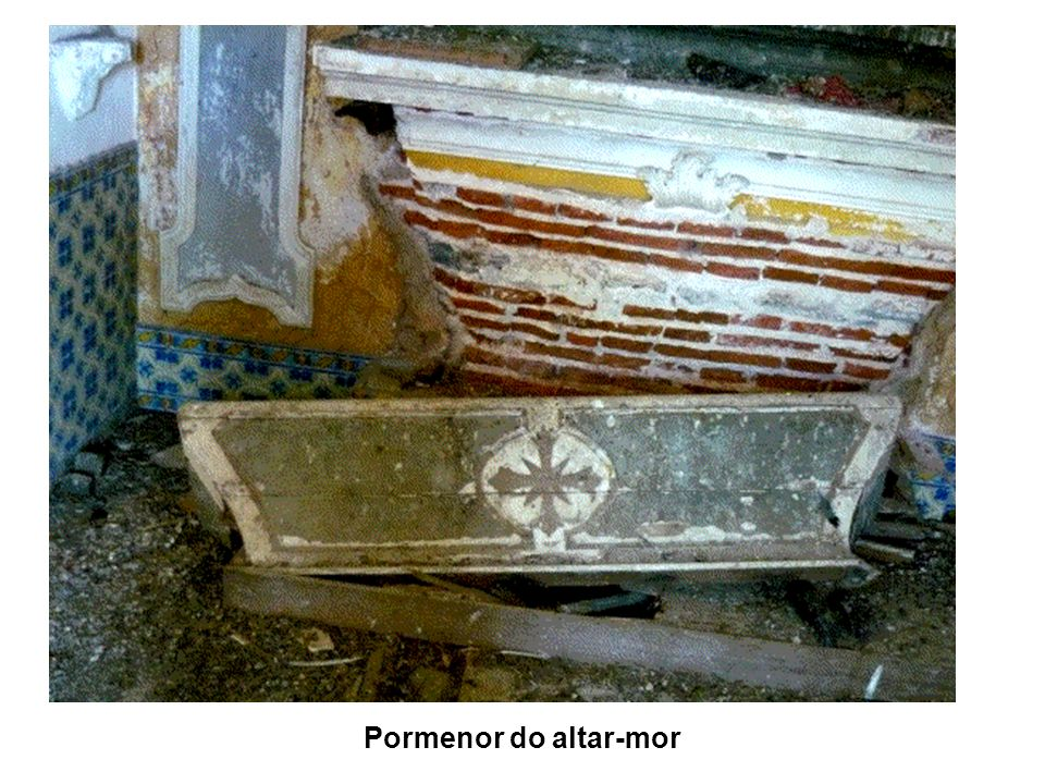 Pormenor do altar-mor