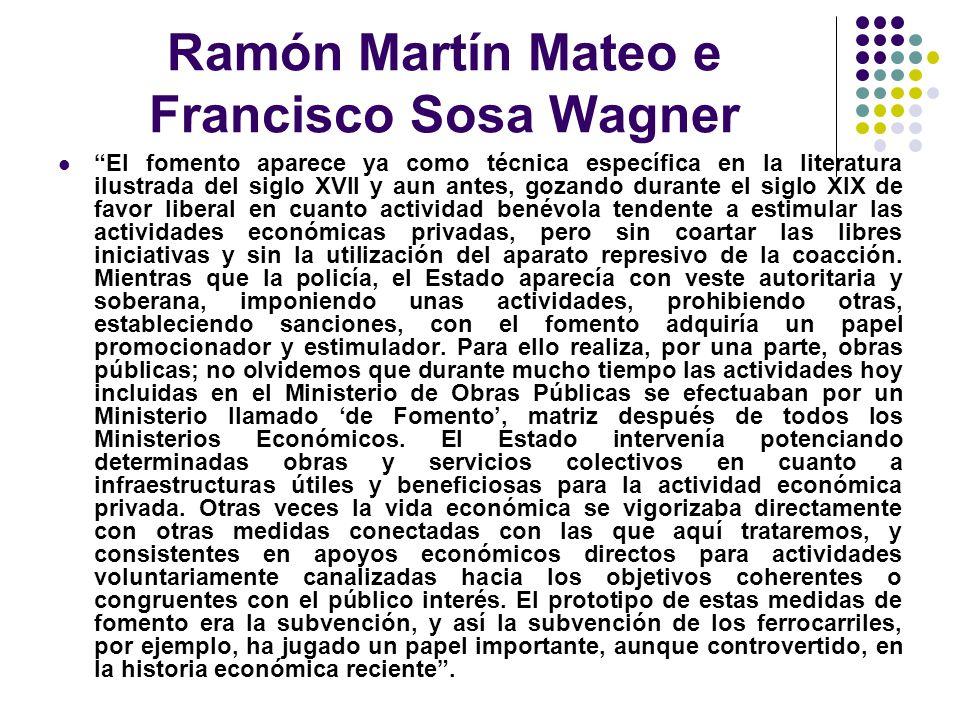 Ramón Martín Mateo e Francisco Sosa Wagner