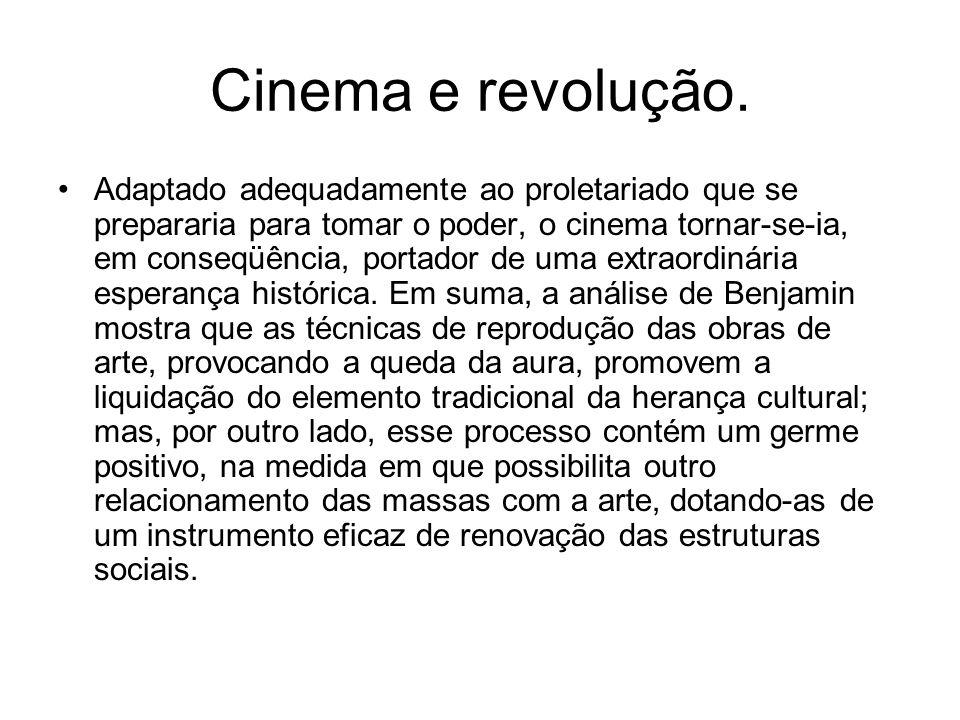 Cinema e revolução.