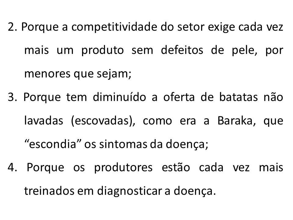 2. Porque a competitividade do setor exige cada vez mais um produto sem defeitos de pele, por menores que sejam;