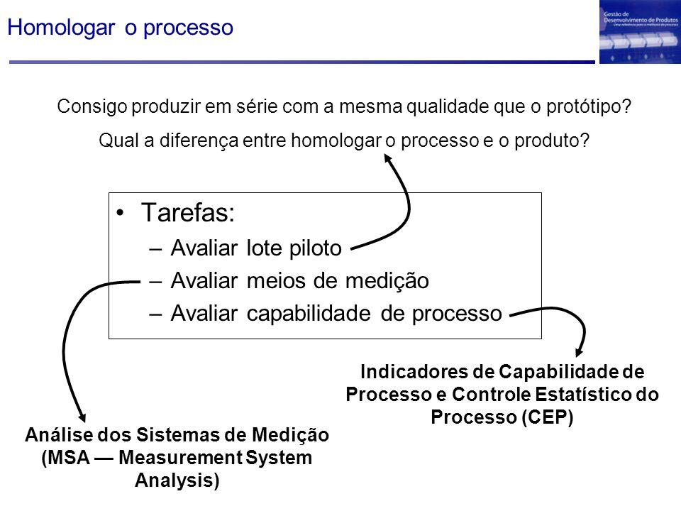 Análise dos Sistemas de Medição (MSA — Measurement System Analysis)