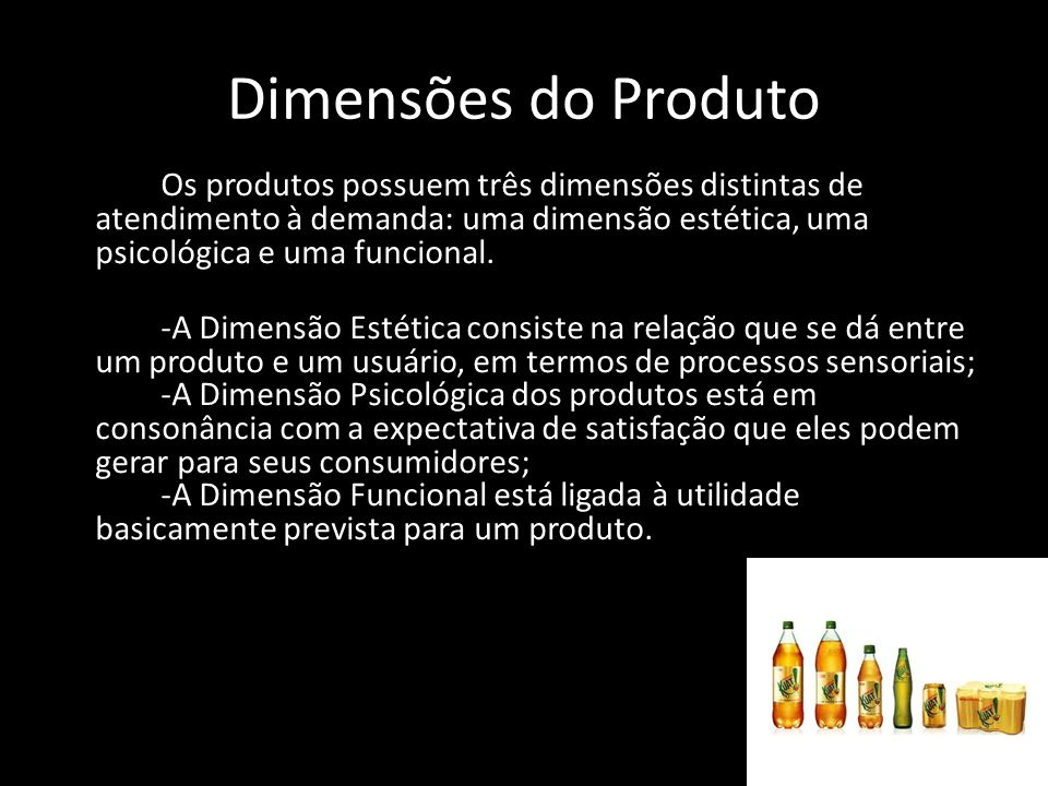 Dimensões do Produto