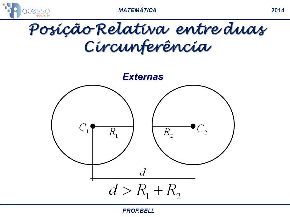 Posição Relativa entre duas Circunferência