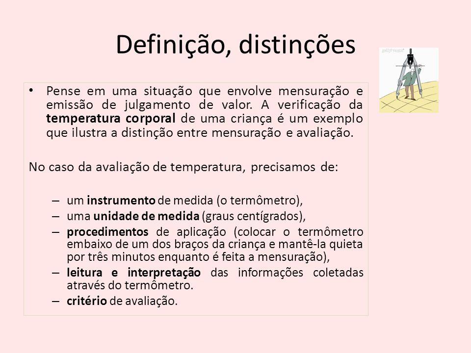 Definição, distinções