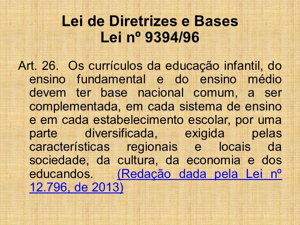Lei de Diretrizes e Bases