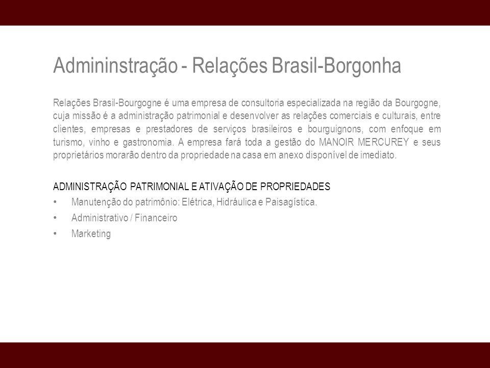 Admininstração - Relações Brasil-Borgonha